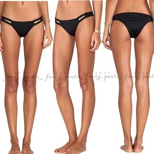 Vitamin A EcoLux Neutra Bikini Bottom NEW Black